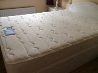 Silent night king divan bed...needs collected ASAP today
