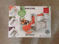 Salter Spiralizer - Brand New