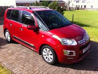 2013 Citroen C3 Picasso Exclusive 1.6 HDi 5dr Diesel MPV Estate. Part-ex considered. £30 Road tax