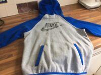 Boys Nike air hooded sweatshirt