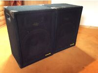 "U S A community 18"" speakers for sale in good condition"