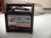 Selmar turbo 6 car battery charger