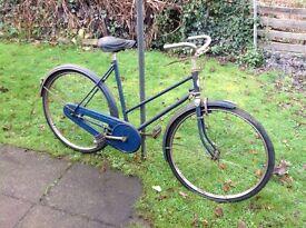 Vintage BSA lady's bike