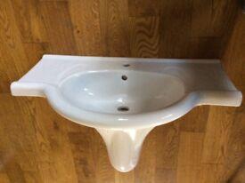 Laufen designer 2 piece new bathroom sink