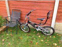 BMX style Childs Bike. Full suspension.