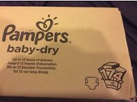 Pampers Nappies Size 4 Box of 174 Unopened