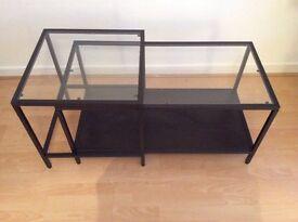 Ikea glass coffee tables