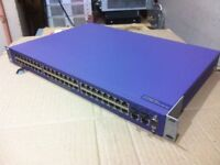 Extreme Networks X450e-48p 48 Port 1Gb Switch PoE 16148 with SSH