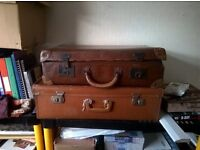 vintage suitcase/suitcases many available