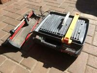 Tile cutter electric and manual