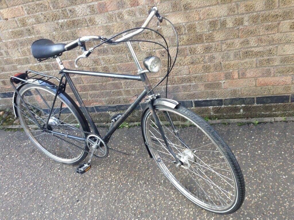 Gents town cruiser city bike Dutch made