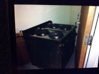 Electric Four Ringed Cooker (catering) Large Size