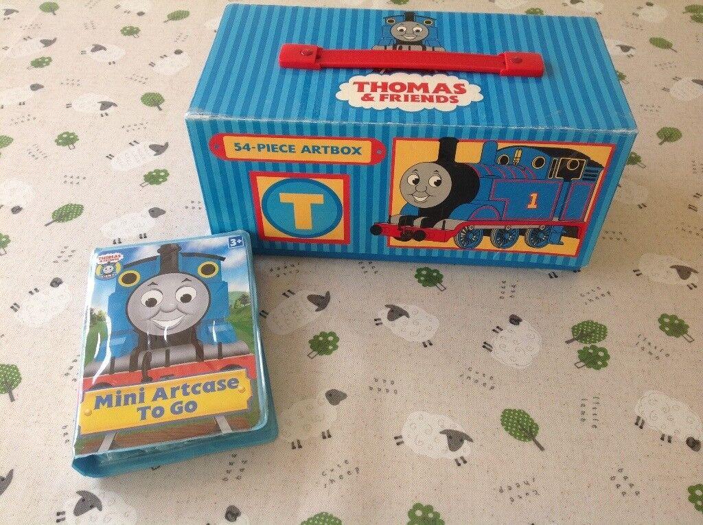 Thomas the Tank Engine Art Box and Mini Art Case