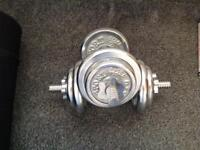Olympus dumbbell weights