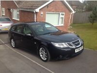 Saab93 vector anniversary turbo in black great condition, auto