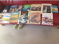 Super lot of vintage painting and drawing art books, some paperback, most hardback + 1 geographical