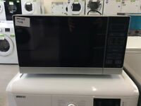 SHARP R372SLM Compact Solo Microwave - Silver #399765