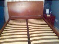 Next directory Kingsize Bed frame