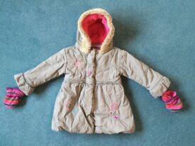 M&S Girls Coat (3-4 years)