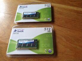512 mb memory DDR266