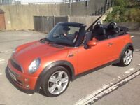Gorgeous Mini Cooper Convertible