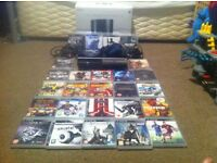 Ps3 Piano Black console and 27 game bundle (£150 or nearest offer)