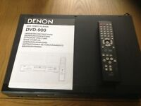 Black Denon DVD 900