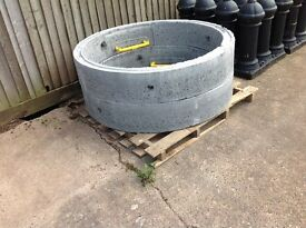 CONCRETE CHAMBER RINGS 1200mm x 250mm with step