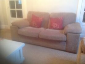 Matching 2 seater and 3 seater sofas