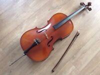1/2 size Michael Poller cello