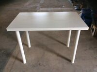 White Rectangle Table