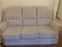 3 seater and on chair sofa