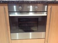 ELECTROLUX OVEN HOB AND EXTRACTOR FAN HOOD STAINLESS STEEL