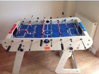 Games table - foosball. Riley folding football table.