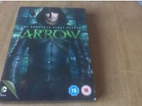 DVD ARROW SEASON ONE. WATCHED ONCE.