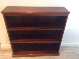 Mahogany Bookcase. Bespoke made by Shaw & Riley.