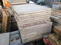 Second hand paving slabs 3x2 3ftx2 ft