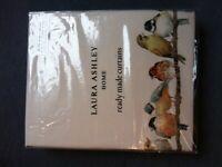 "Laura Ashley 'Garden Birds' Curtains - Brand New - (W) 64""/162cm x (L) 72""/183cm"