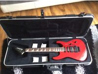 Jackson guitar pro series dinky.mij.top condition plus fitted hardcase
