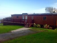 Log cabin with stunning sea views available 08th Sept for 1 week