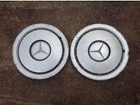 Mercedes wheel trims FREE