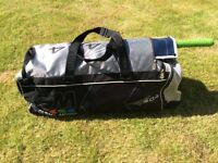 GM cricket bag and accessories