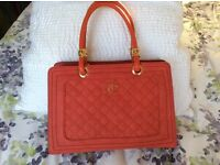 Red ladies Handbag (Chanel Style)