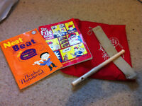 Yamaha Fife with the Fife books