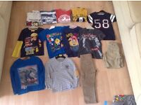 4to 5 year old boy clothes bundle