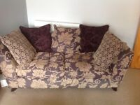 1 Large , 1small DFS settees for sale