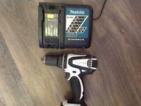 Makita li- ion drill for parts no bat