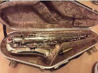 Evette Schaeffer Alto Saxophone Silver 1921/22 serial number 25654