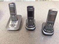 Panasonic triple phone system
