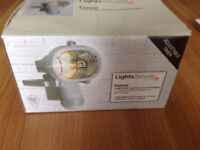 Security light new colour white adjustable timer